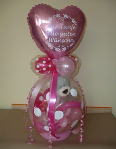 Verpackungsballon mit Folienherz | 25€