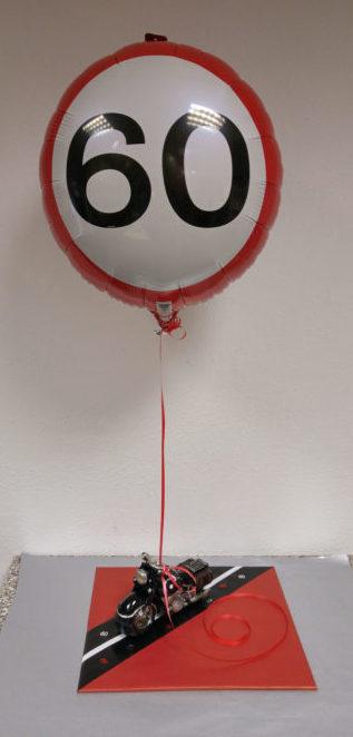 Tablettverpackung mit Folienballon