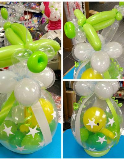 Ballon Figuren, Ballonverpackung, BV, Geld im Ballon, Ballon FigurenVerpackungsballon | 28€