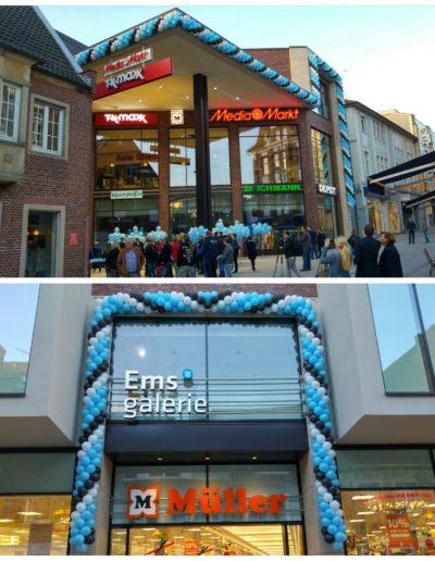 Latexballongirlanden | 25€/Meter zzgl. Lieferung und Montage