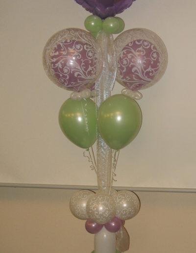 Folien und Latexballonsäule (3m) | 95€