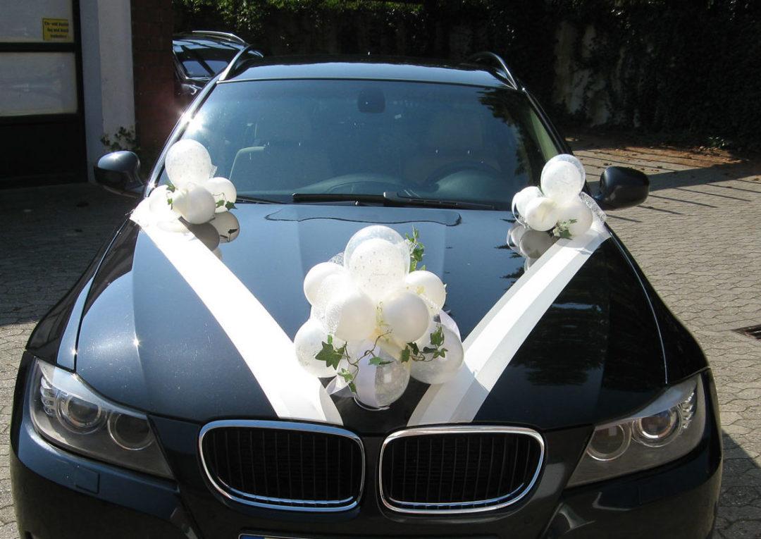 Autodekoration Zur Hochzeit Partyzauber Rheine