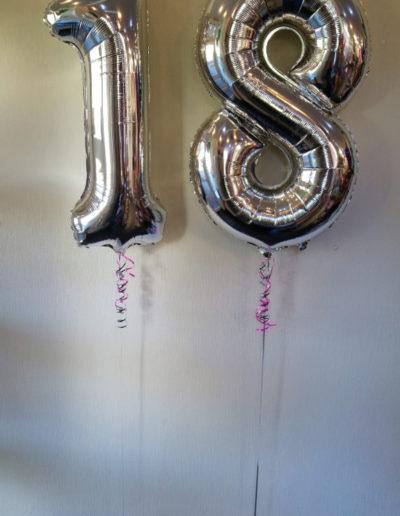 Zahlen Folienballon | 13€/Zahl zzgl. Gewicht