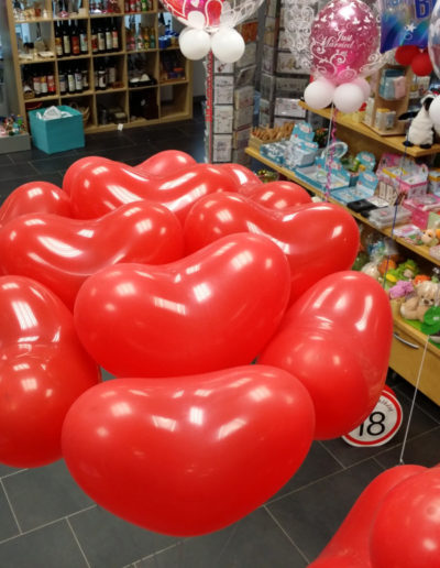 Herzen (Latexballons, 40cm) | 4,50€/Stk.
