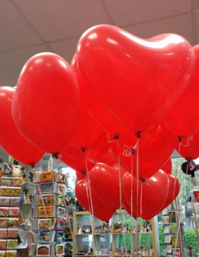 Herzen (Latexballons) | 4,50€/Stk. mit Helium. Flugdauer 12 Std.