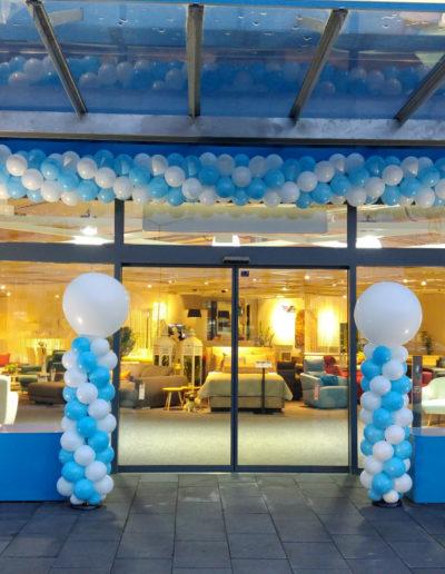Latexballongirlande | 25€/Meter zzgl. Lieferung und Montage