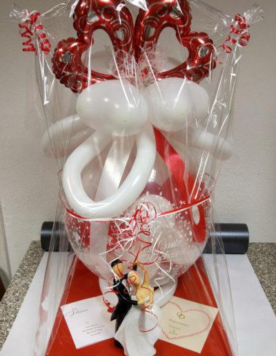 Verpackungsballon auf Tablettverpackung, 28€ ohne Keramikfigur