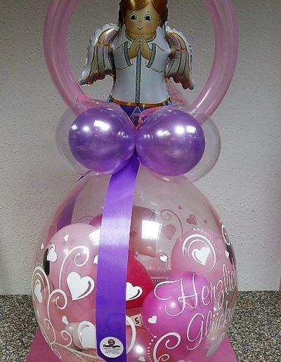 Verpackungsballon zur Taufe/Kommunion/Konfirmation | 25€