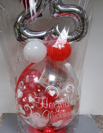 Folienballons auf Verpackungsballon | 28€