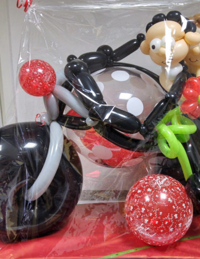 Ballon Figuren, Ballonverpackung, BV, Geld im Ballon, Ballon FigurenBallonverpackung Geld im Ballon