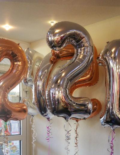 Zahlen (Folienballon) | 13€/Zahl