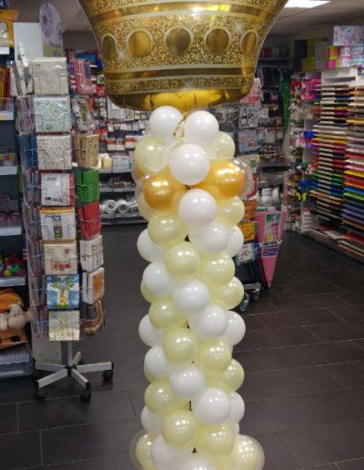 Ballonsäule aus Mini-Latexballons | 40€/Meter