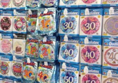 Folienballons Auswahl
