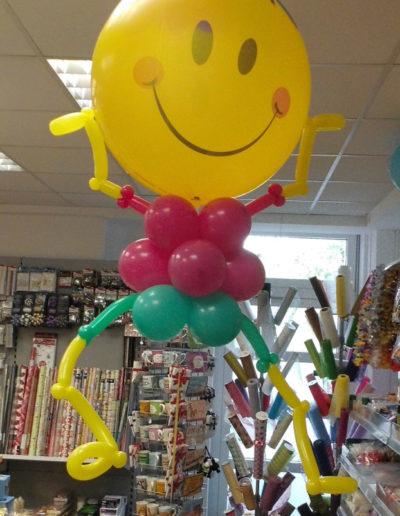 Ballon Figuren, Ballonverpackung, BV, Geld im Ballon, Ballon FigurenFolienballonfigur mit Helium | 25€