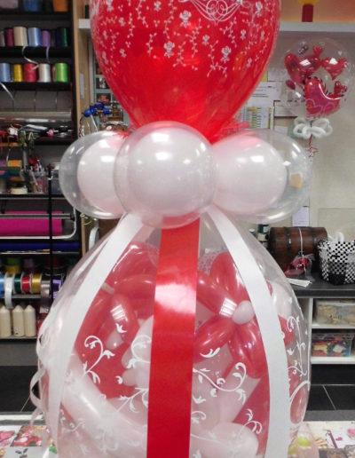 """Just Married"" 25€ Verpackungsballon"