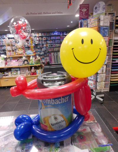 """Smiley"" Latexballonfigur 8€"