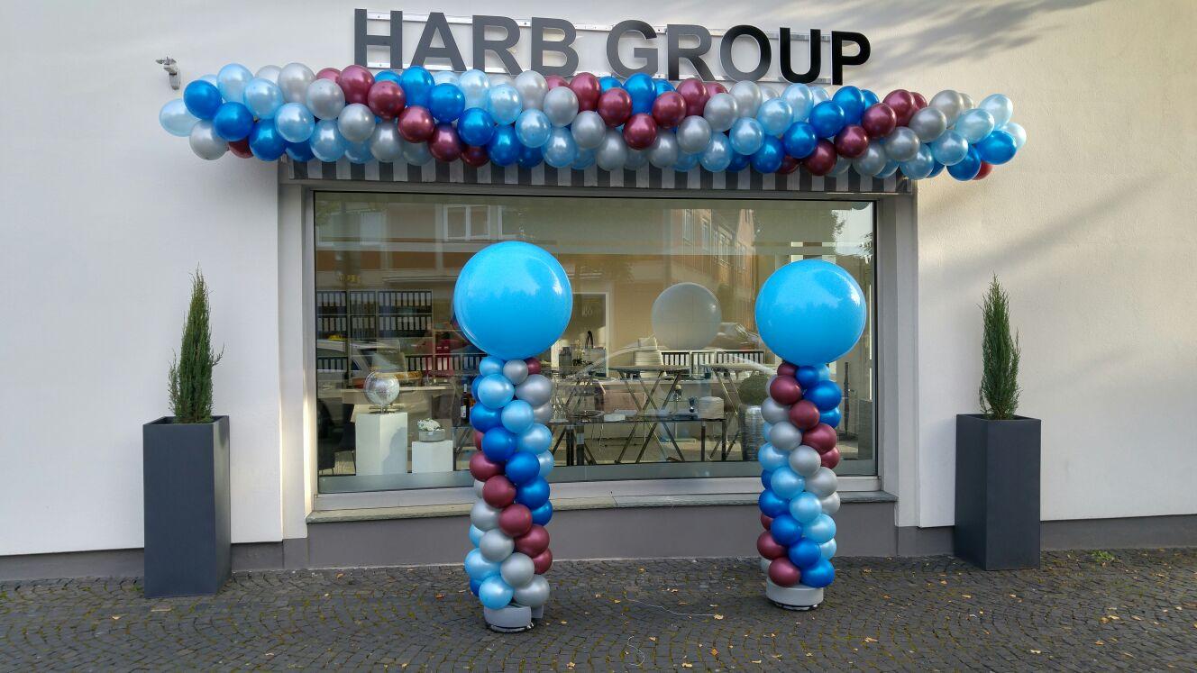 innendekoration kurse latexballongirlande und ballons ulen partyzauber rheine