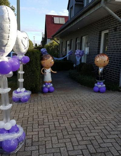 Folienballonaufsteller | 50€/Stk., Figuren | 25/Figur
