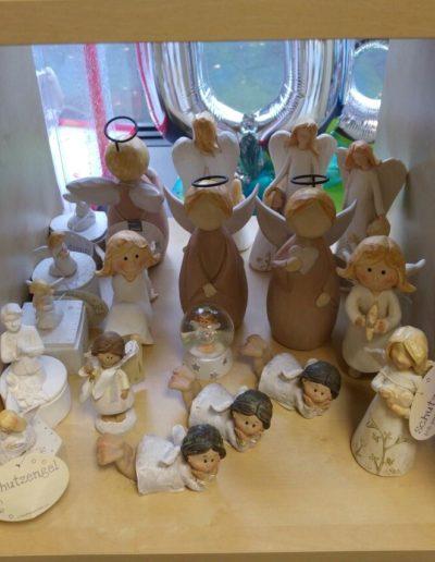 Keramikfiguren zur Hochzeit, Kommunion, Taufe