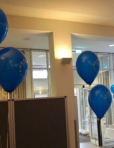 Bedruckte Latexballons