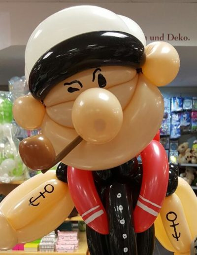 """Popeye"" Latexballonfigur | 21,50€"