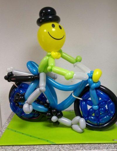 """Fahrradfahrer"" Latexballonfigur | 34€"