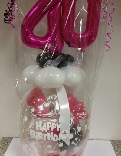 """Happy Birthday"" Verpackungsballon | 28€"