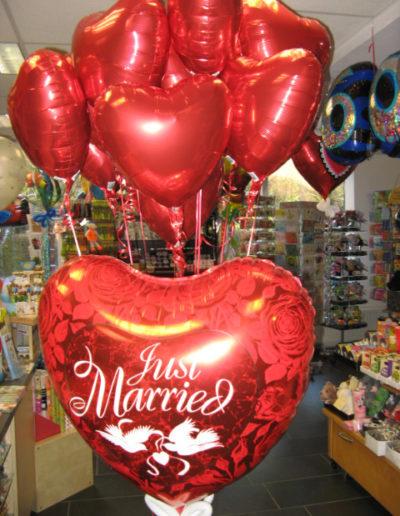 Herzen Folienballons | 5€ und 19,90€