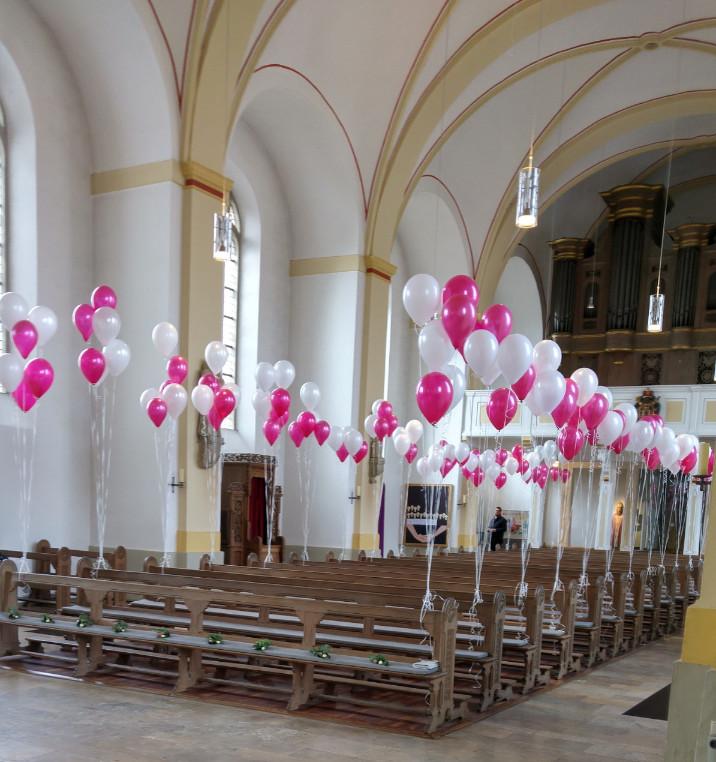 Kirchen Dekoration Partyzauber Rheine