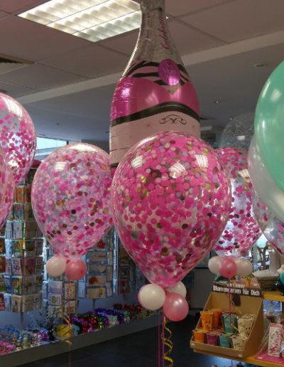 Konfetti Latexballons, diverse Größen: 50cm | 18€, in 40cm | 15€