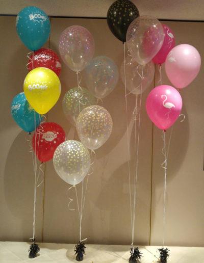 Uni-Latexballon | 3€, Bedruckter Latexballon | 3,50€ versiegelt