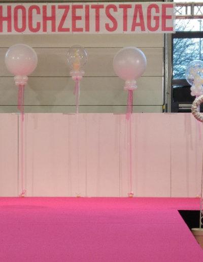 Bühnendekoration, 90cm (Latexballons+DoubleBubbles)