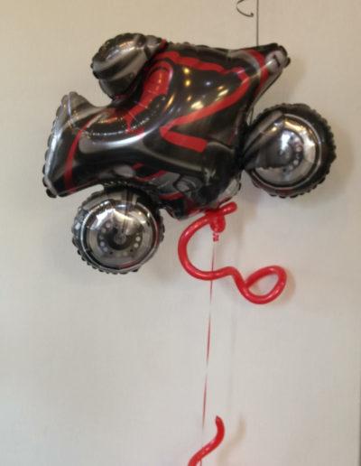 Motorrad fliegend (1,80m) |34€