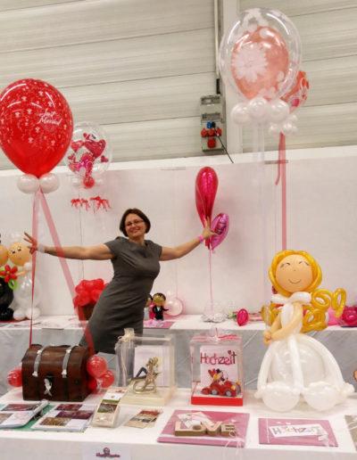 Ballon Figuren, Ballonverpackung, BV, Geld im Ballon, Ballon FigurenPartyzauber Unterwegs