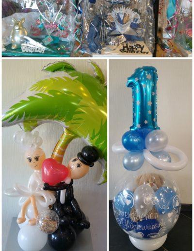 Ballonverpackungen (Folien- und Latexballons)