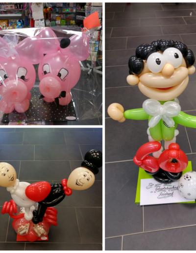 Figuren aus Latexballons, versch. | ab 21,50€ bis 34€