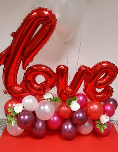 Tischdekoration (Folien- und Latexballons) | 45€