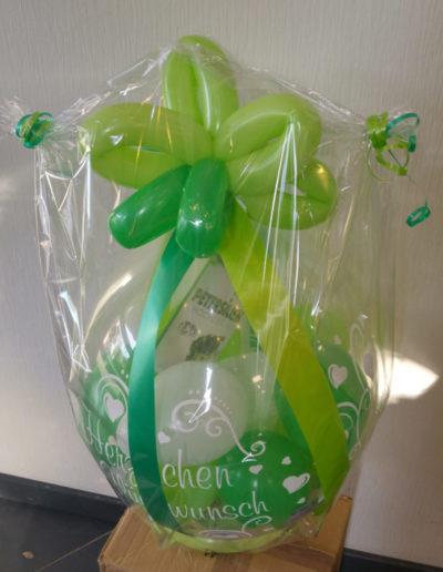 """""""Herzlichen Glückwunsch"""" 17€ Verpackungsballon"""