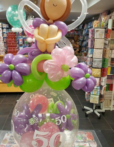 Ballonverpackung Geld im Ballon, Ballon Figuren, Ballonverpackung, BV, Geld im Ballon, Ballon Figuren