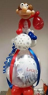 Motto Fussball Verpackungsballon | 34€