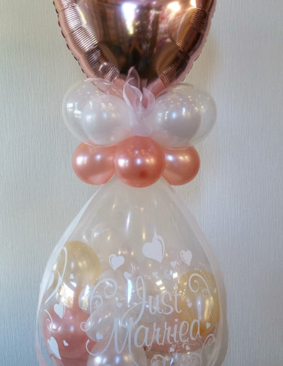 """Just Married"" Verpackungsballon 
