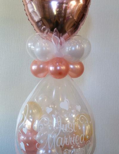 """Just Married"" Verpackungsballon   25€"