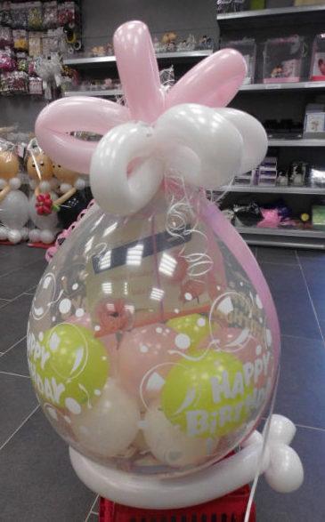 Verpackungsballon Basis | 15€ Plus 2€ Folie