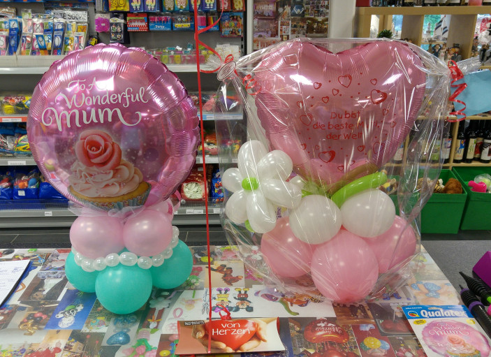 Ballontorte mit Folienballon | 21,50€/Stk.
