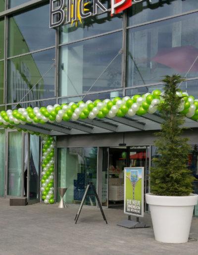 Latexballongirlande Möbel Berning | 25€/Meter zzgl. Lieferung und Montage