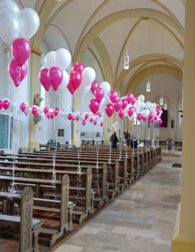 Kirchendekoration Latexballons | 3€/Stk.