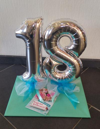 Mini-Zahl 30cm Folienballon Tablettverpackung | 21,50€