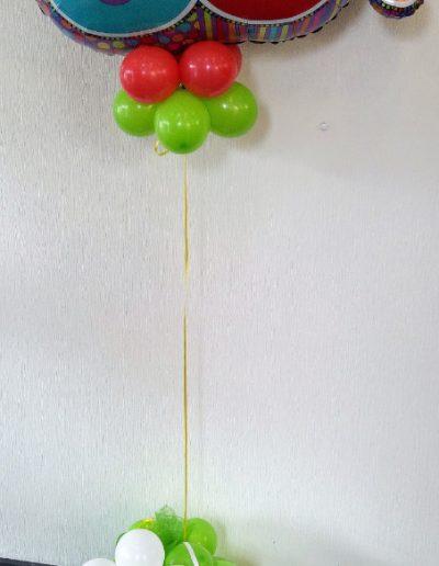 Folienballon Säule 28€