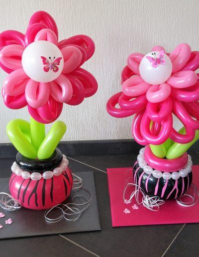 Blumen aus Luftballons je 25€