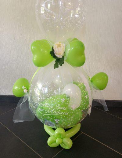 Latexballons auf Verpackungsballon | 25€